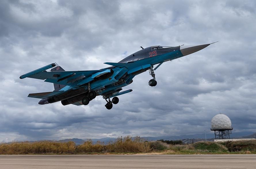 Дальние бомбардировщики Ту-22М3 снова задействованы в Сирии