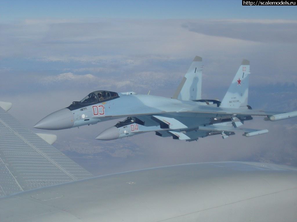 Четыре истребителя Су-35С переброшены в Сирию
