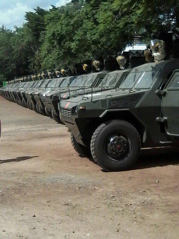 Кения приобрела китайские бронированные машины VN4