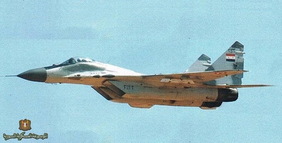 Россия, как сообщается, модернизировала сирийские истребители МиГ-29 в вариант МиГ-29СМТ