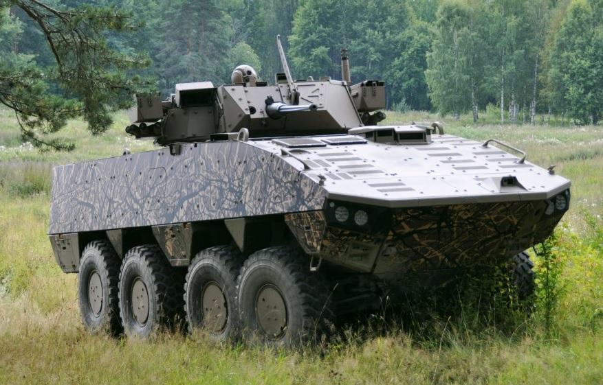 Новые варианты бронетранспортера Patria AMV