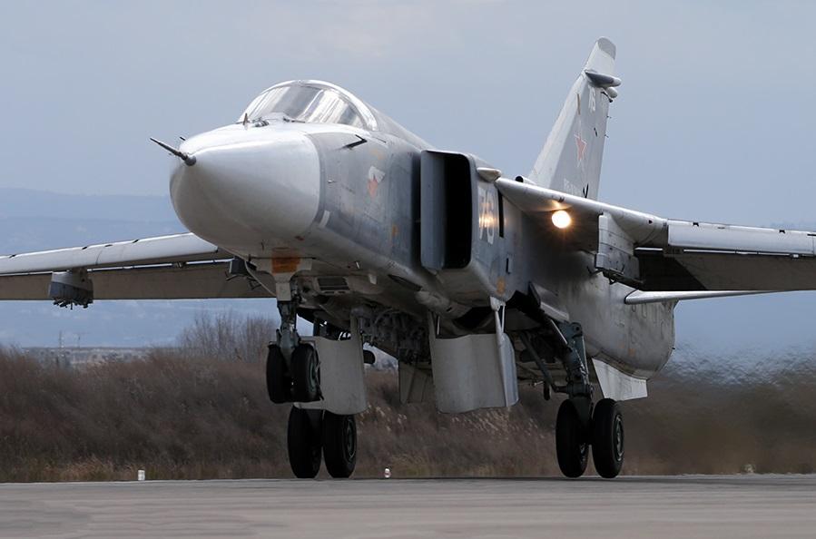 Операция ВКС России в Сирии - сводка за неделю