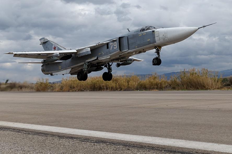 Действия ВКС России в Сирии с 4 по 11 февраля