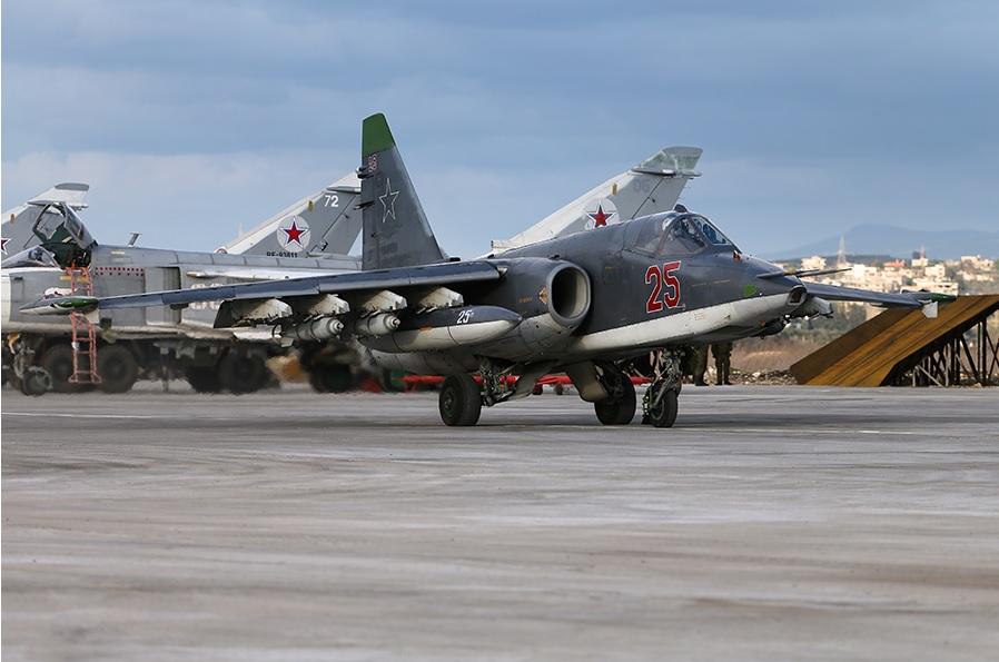 Действия ВКС России в Сирии с 10 по 16 февраля