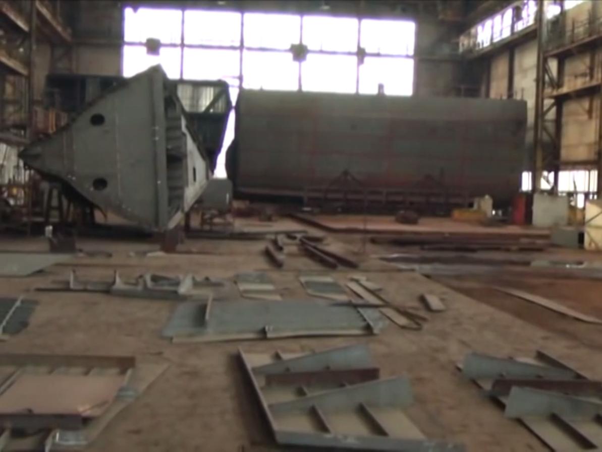 Концерн Укроборонпром готов и может строить корвет на Украине, но ожидает финансирования