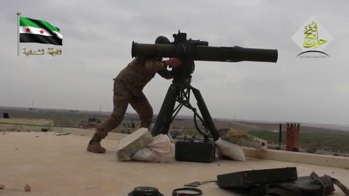 Статистика по применению ПТРК в Сирии