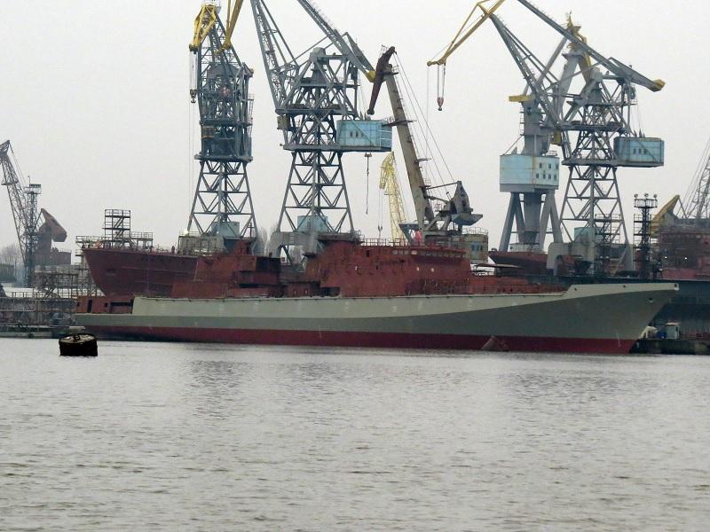 """Спущен на воду фрегат """"Адмирал Бутаков"""""""