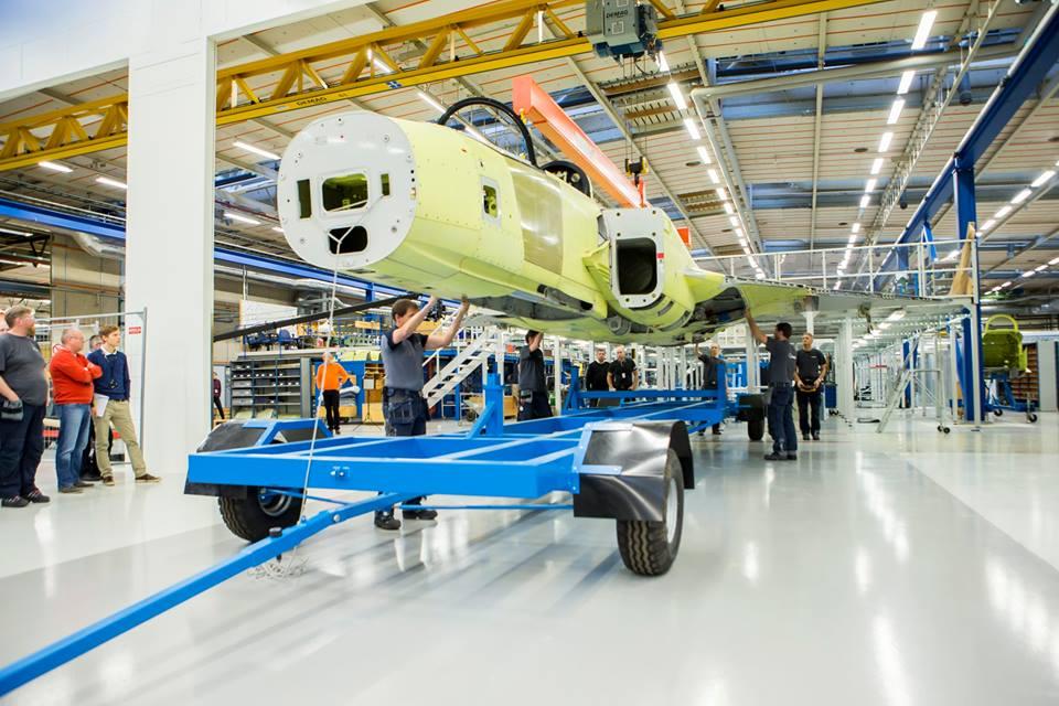 Бразильские авиационные специалисты приступили к стажировке в компании Saab AB