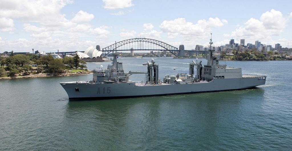 Navantia построит корабли комплексного снабжения для Австралии