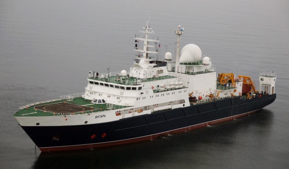 Контракт на строительство океанографического судна «Алмаз» проекта 22010