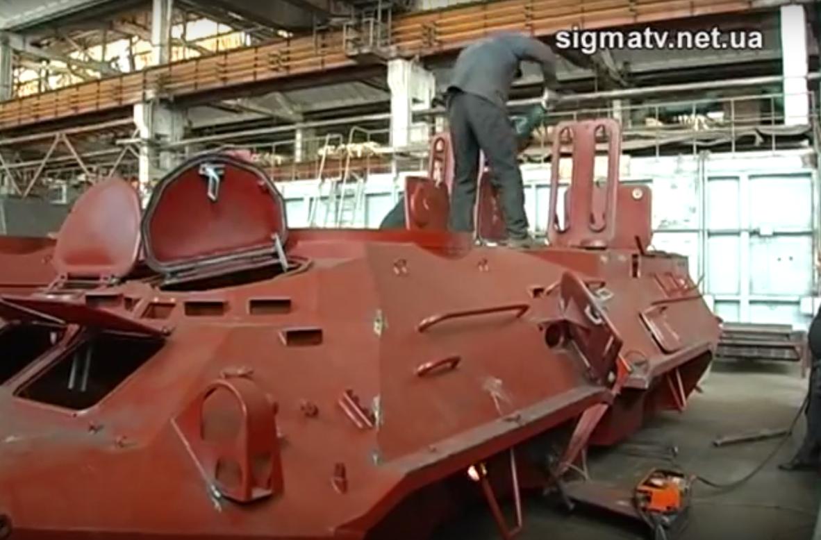 К вопросу о производстве корпусов БТР на Украине
