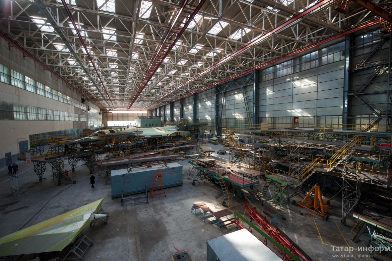 Контракты на реконструкцию Казанского авиационного завода