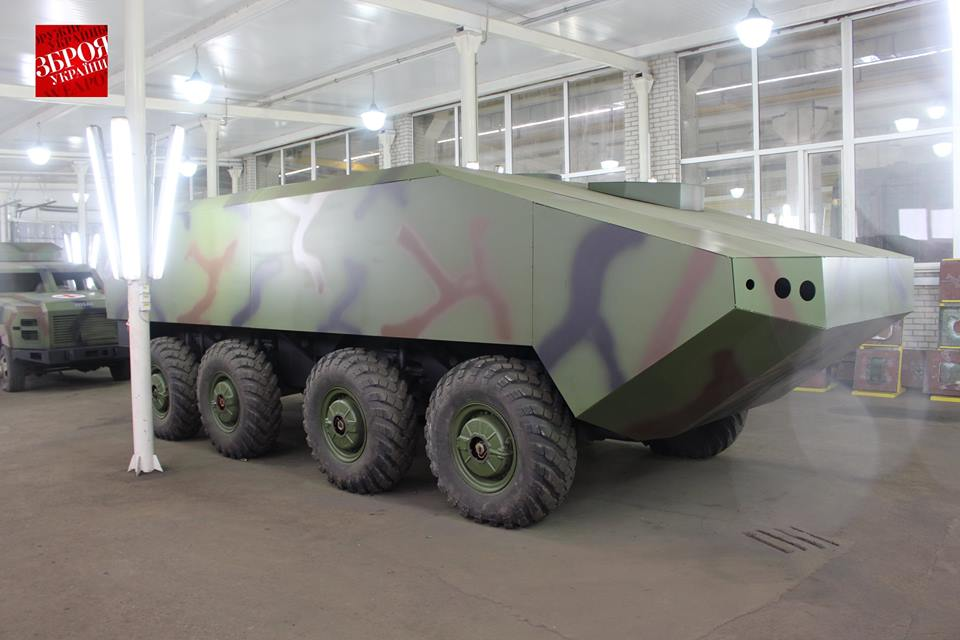 Еще один проект бронетранспортера на Украине