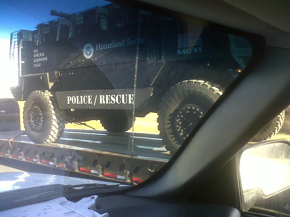 Homeland-security-vehicle-on-truck-south-carolina