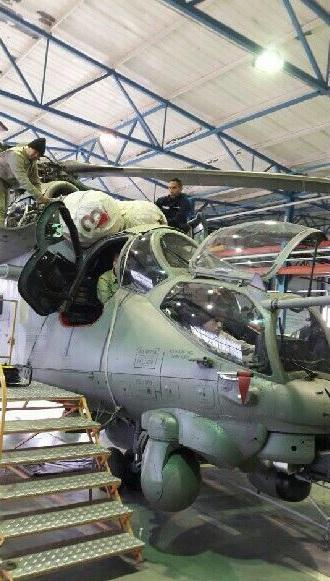 Венесуэла получила первые четыре отремонтированных вертолета Ми-35М