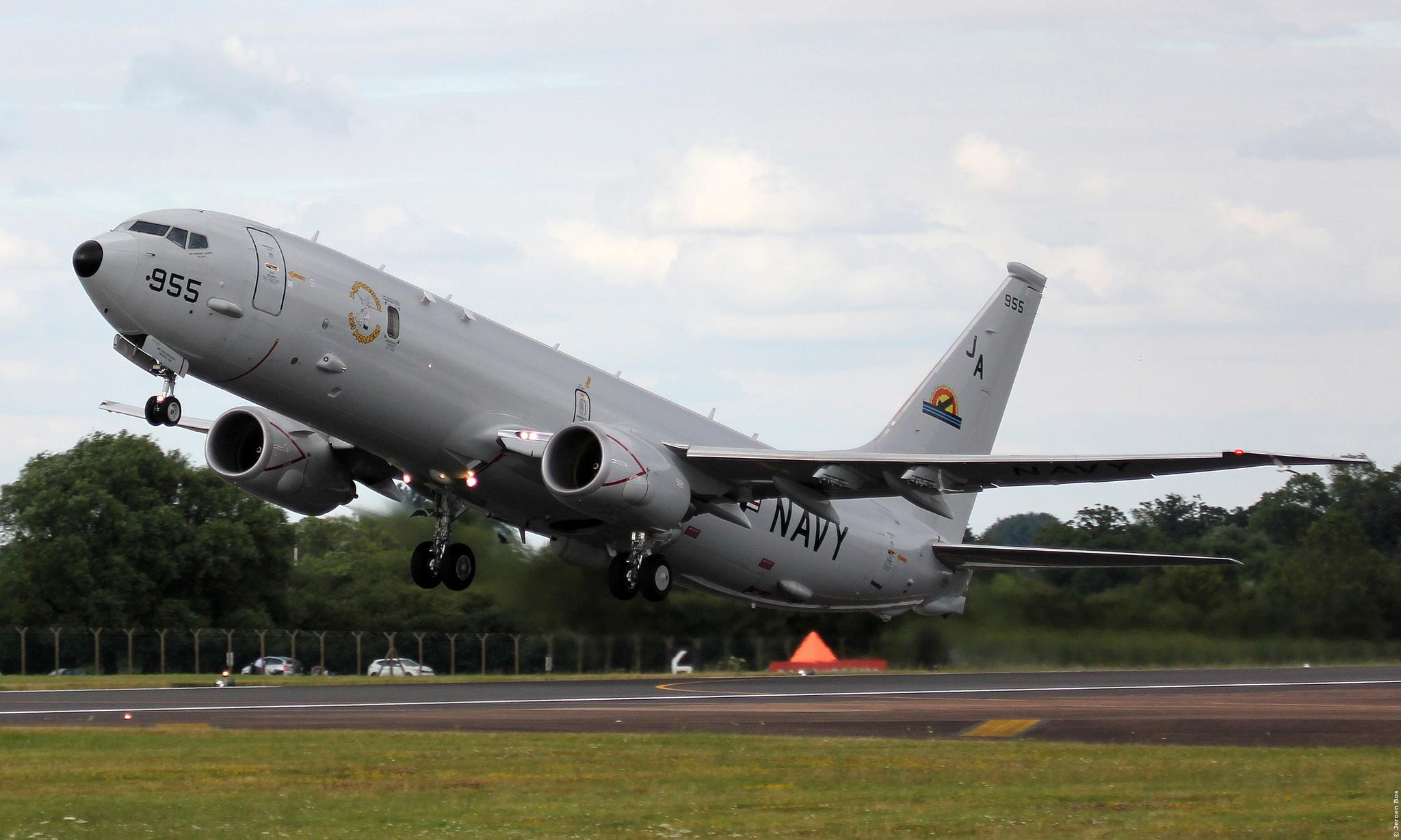 Великобритания приобретает девять базовых патрульных самолетов P-8A Poseidon