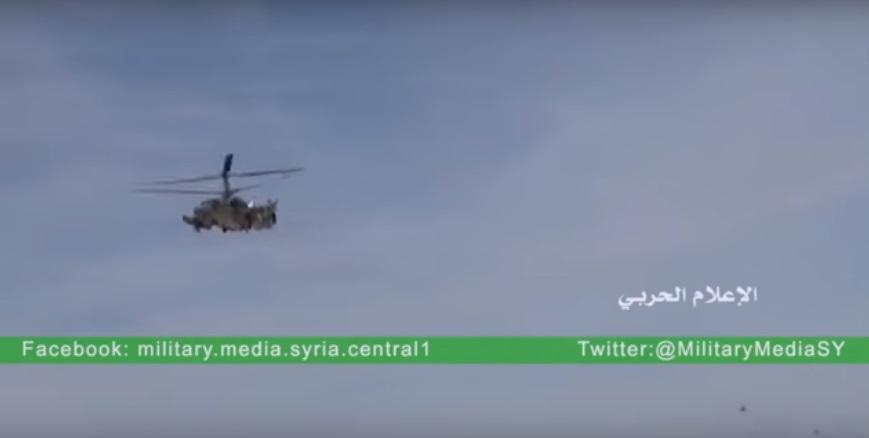 Ка-52 впервые пошли в бой в Сирии