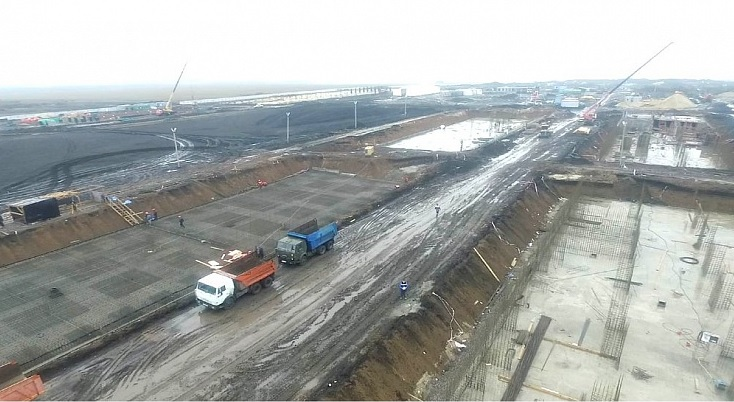 Масштабное строительство военного городка в Валуйках