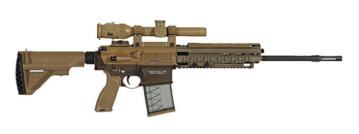 Компания Heckler & Koch поставит американской армии снайперские винтовки G28