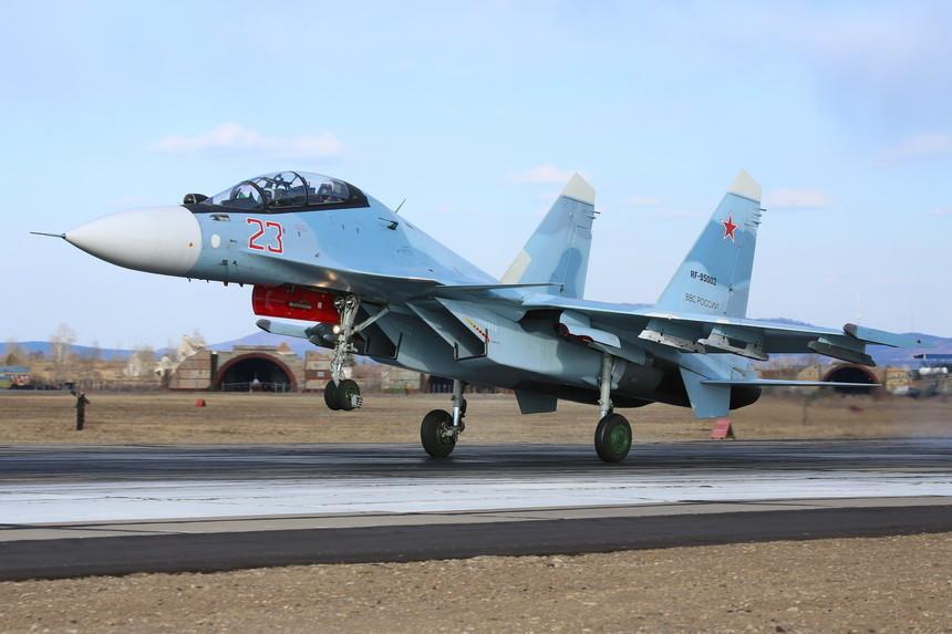 Су-30СМ из Домны получают новые ракеты