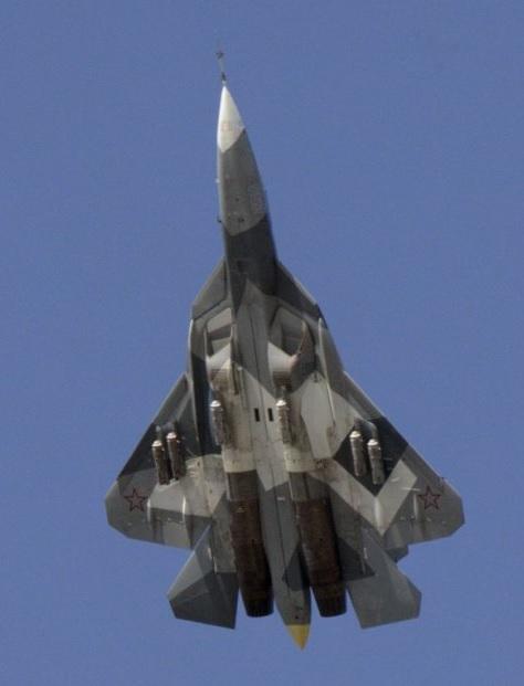 Еще Т-50-2 со свободнопадающими бомбами