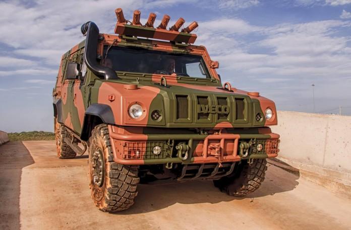 Бразильская армия выбрала бронированную машину Iveco LMV