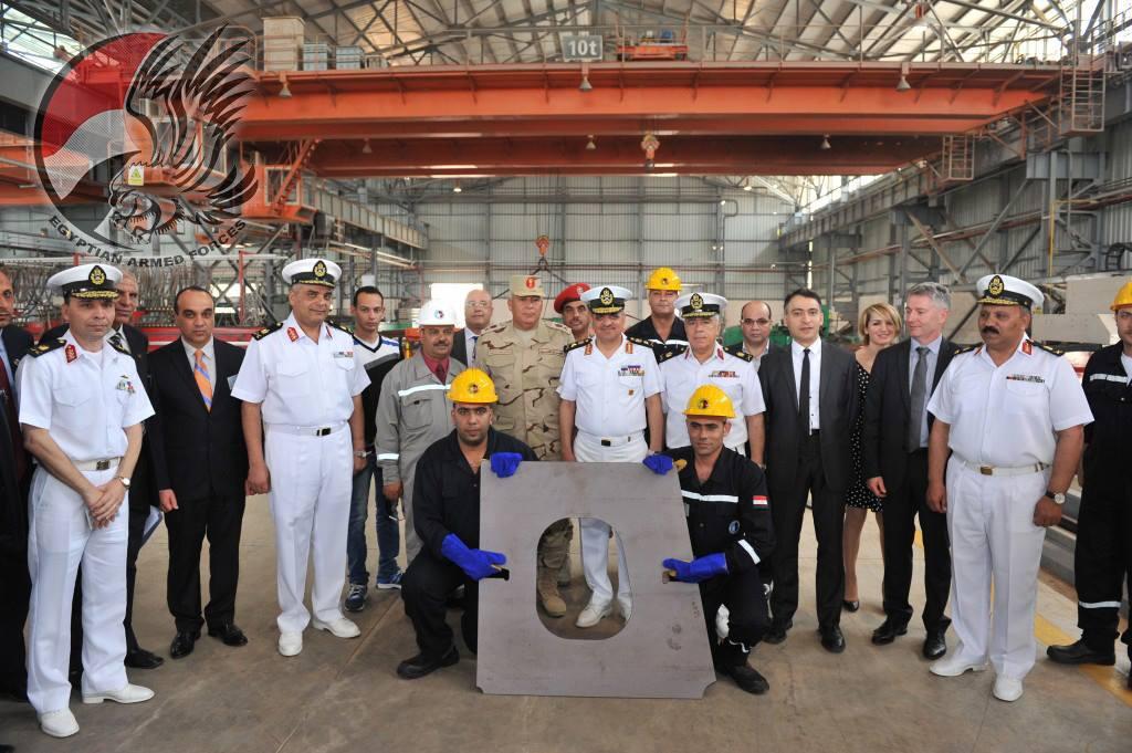 Начата постройка первого корвета проекта Gowind 2500 в Египте