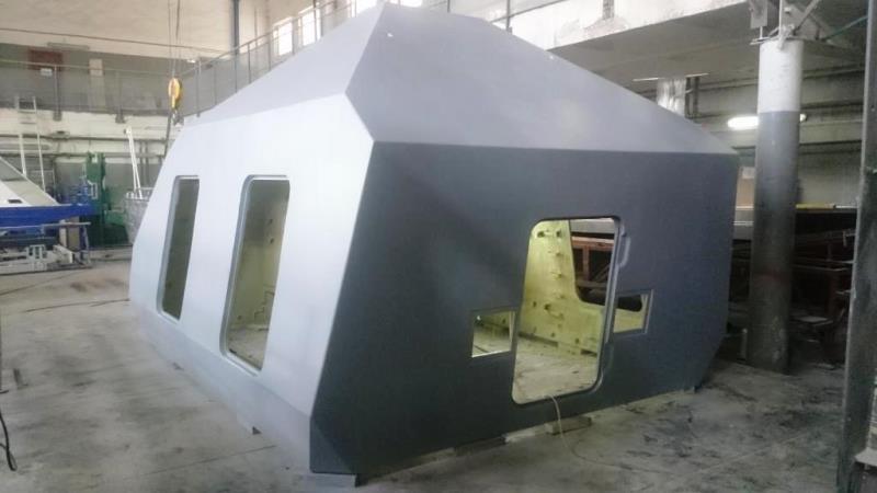Пластиковый корпус корабельной артиллерийской установки А190-01