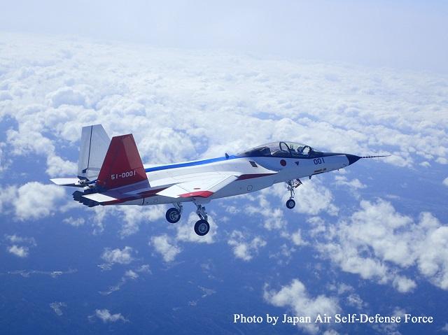 Первый полет японского демонстратора перспективного истребителя X-2