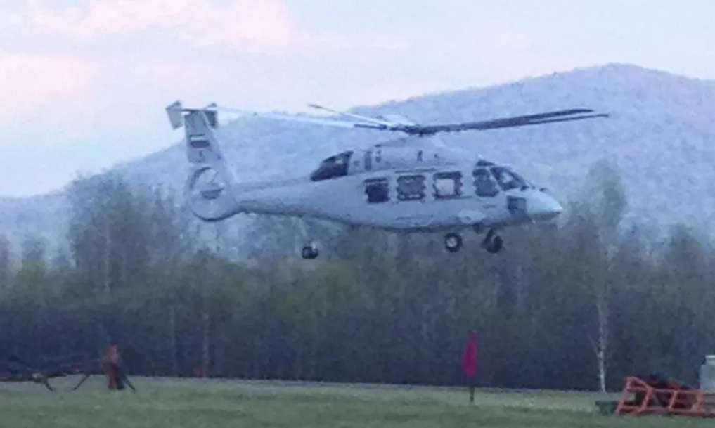 Первый полет вертолета Ка-62