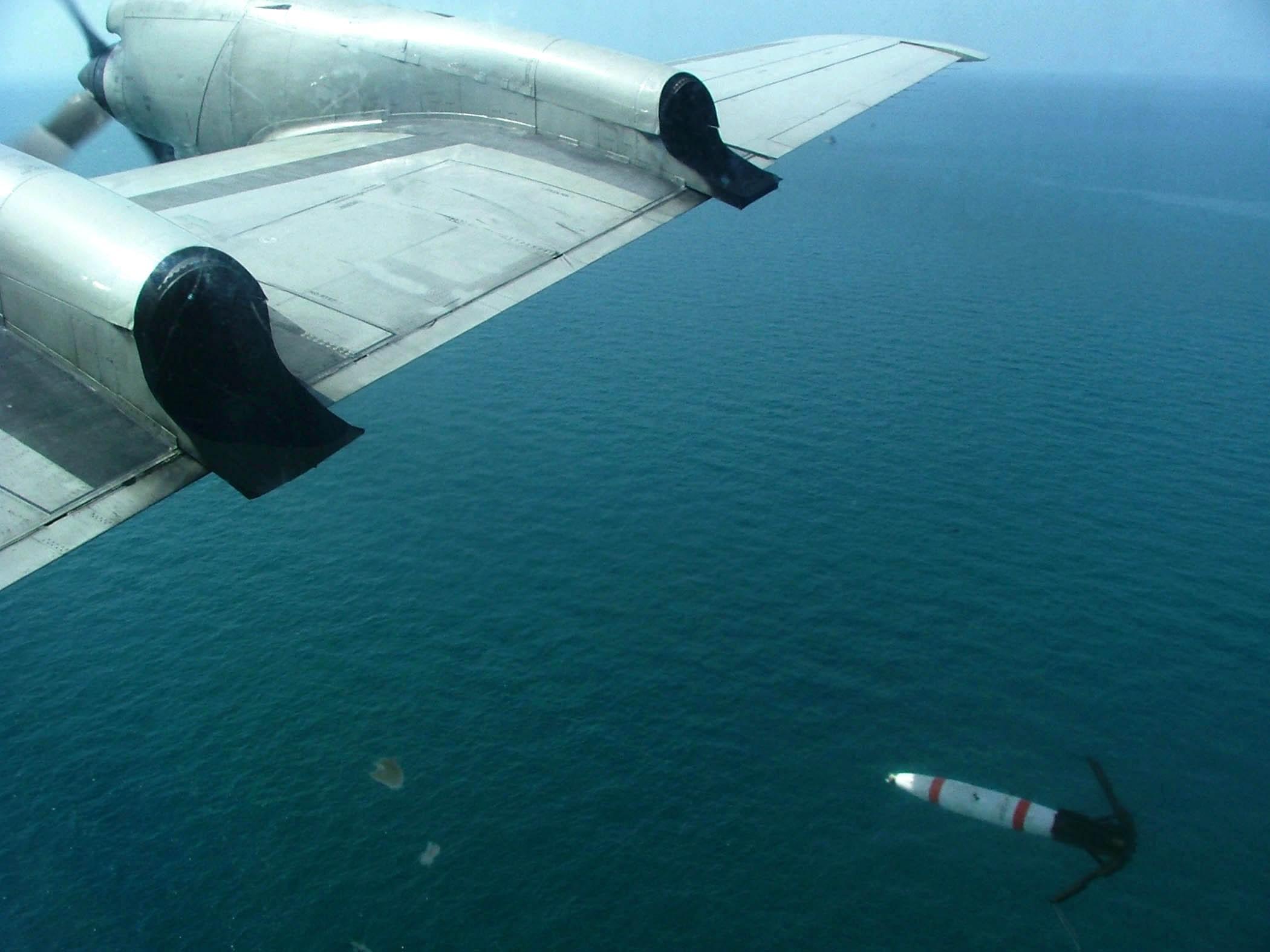 Американские авиационные морские мины высокоточной постановки
