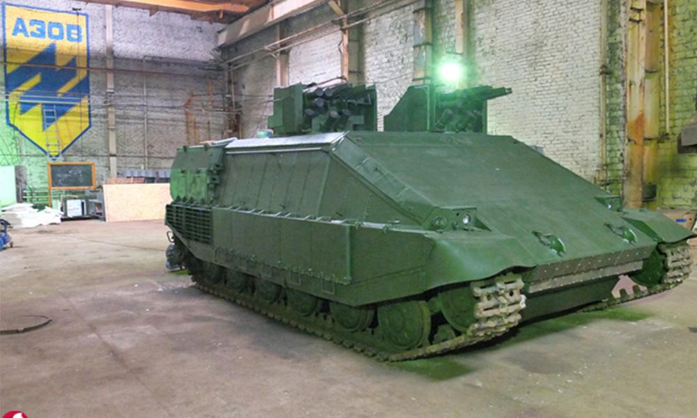 Приостановлены испытания украинской бронированной машины «Азовец»