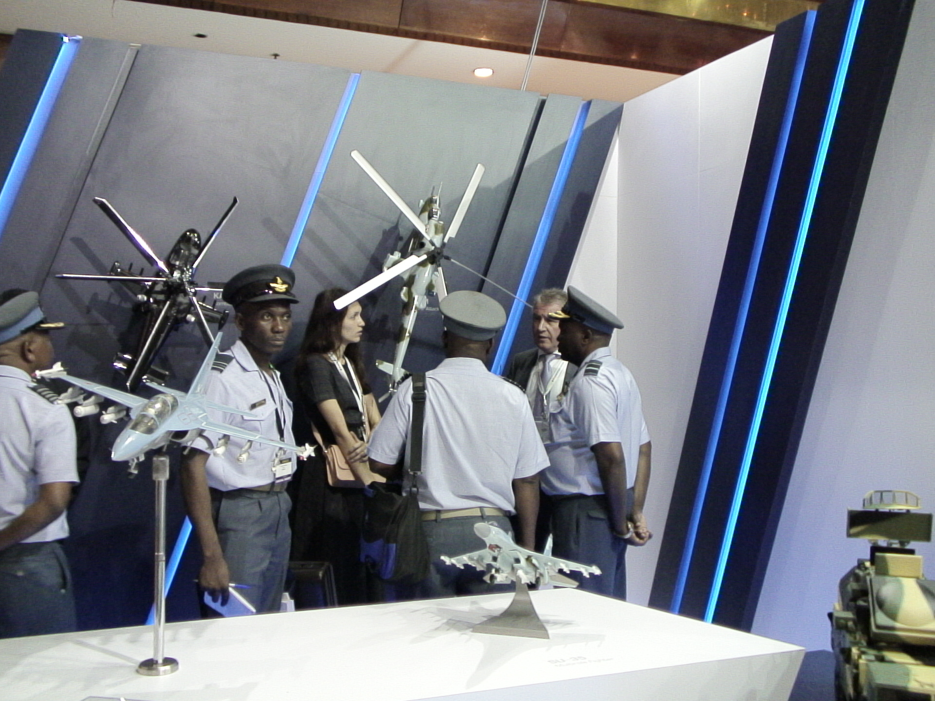 Еще с выставки DSA-2016 в Малайзии