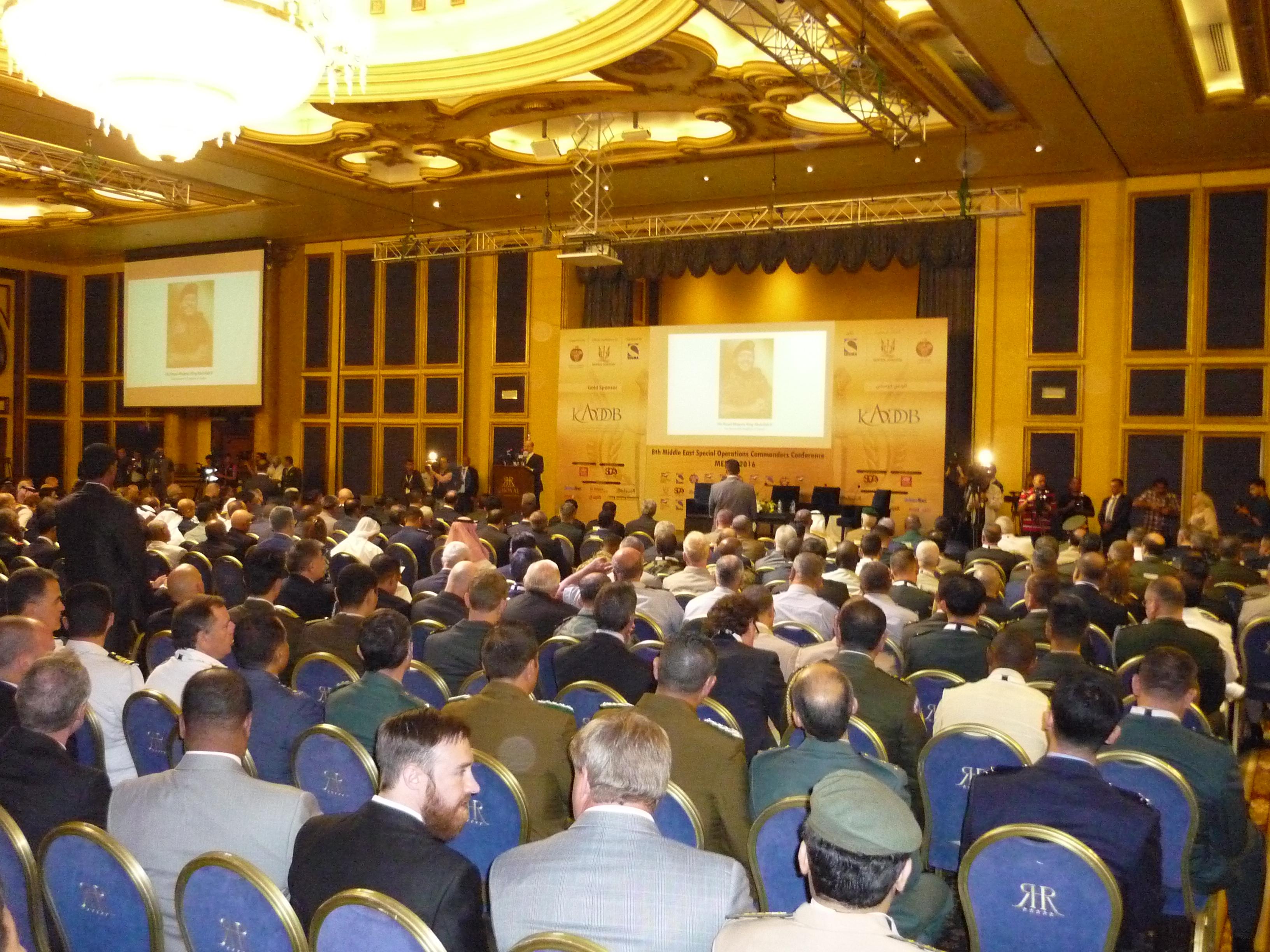 Конференция MESOC 2016 в Иордании