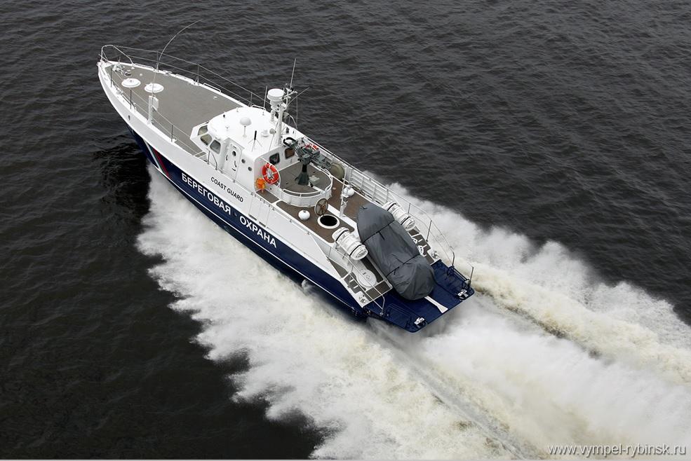 Контракт еще на четыре пограничных катера «Мангуст» и проблемы с импортозамещением двигателей