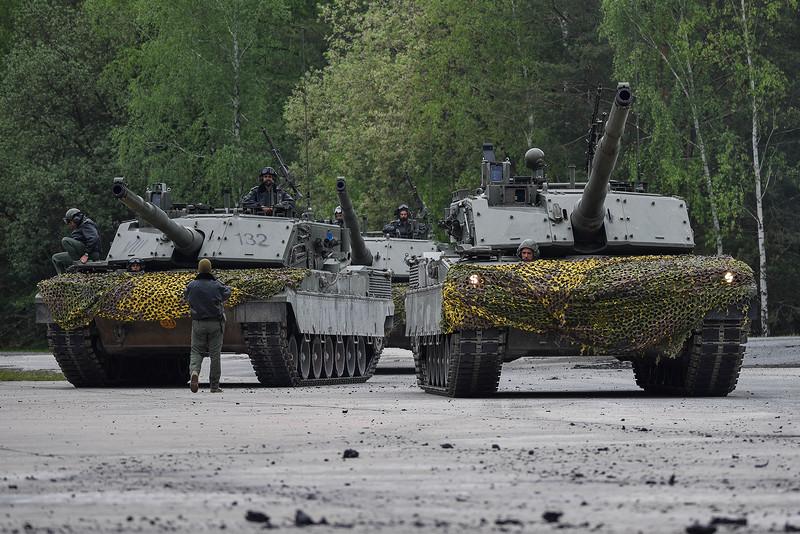 В итальянской армии осталось в строю лишь 30 танков Ariete
