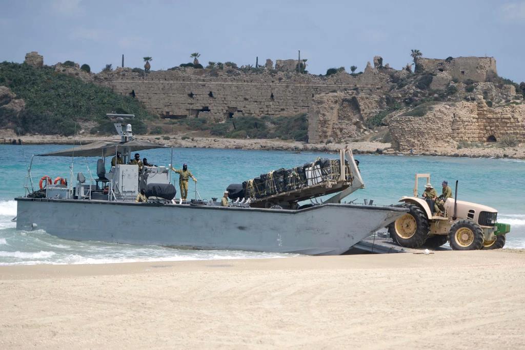Израильские десантные катера типа Manta