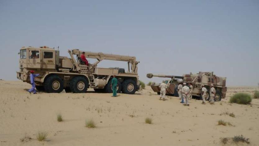 Делегация военных из ОАЭ с визитом в Белоруссии