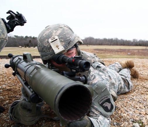 Американская армия приняла на вооружение гранатомет Carl Gustaf М3
