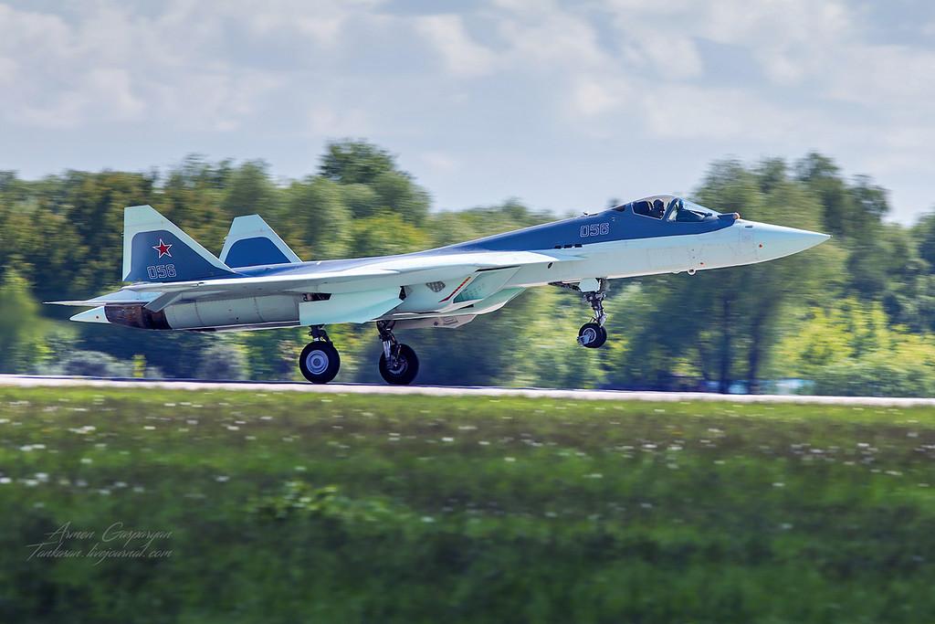 Первый полет Т-50-6-2 в Жуковском