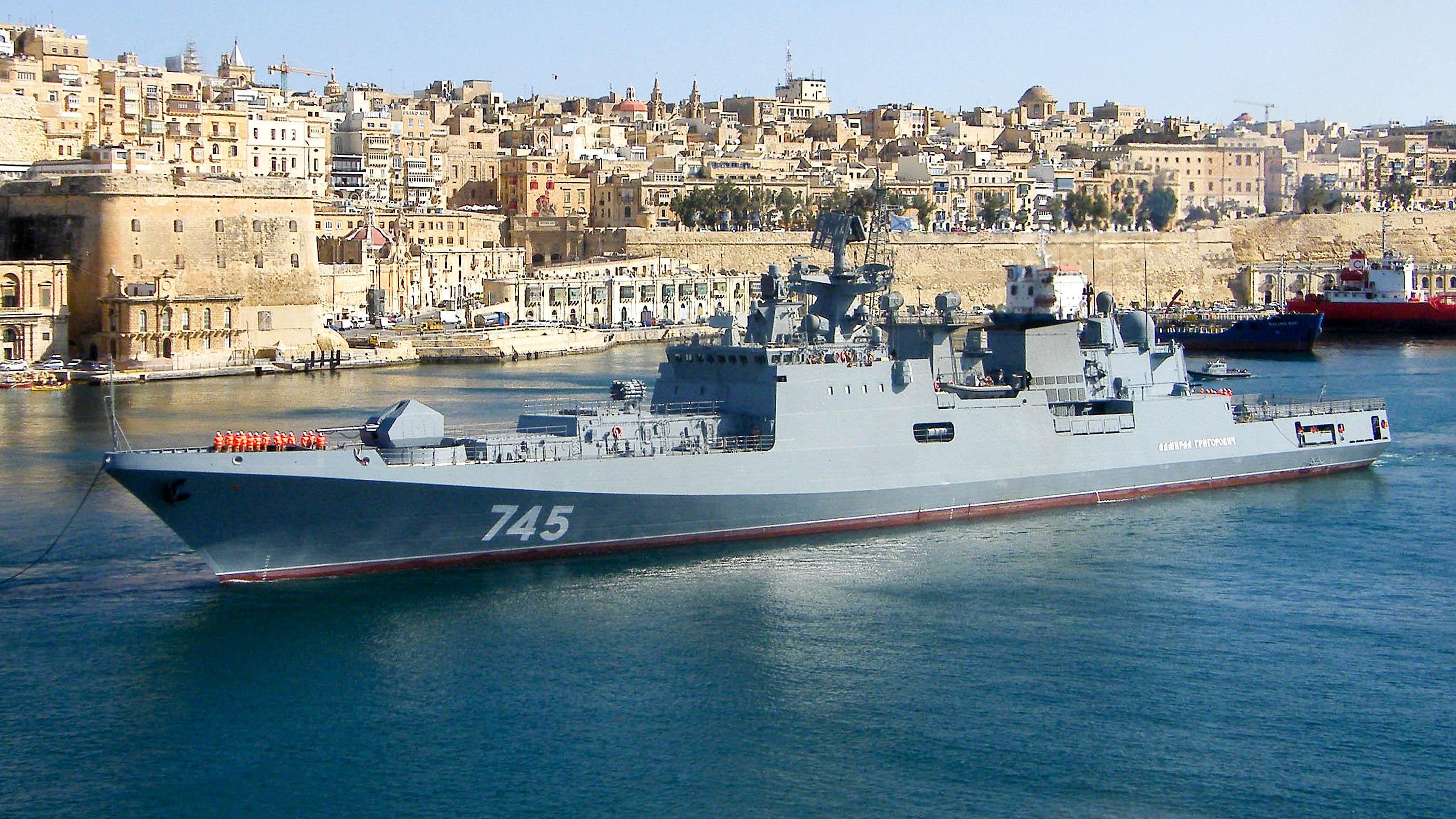 """""""Адмирал Григорович"""" на Мальте"""