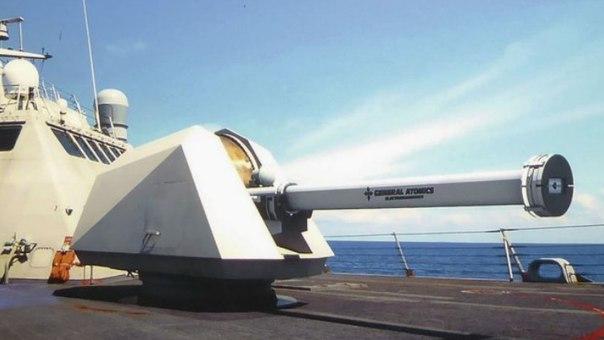 General Atomics разрабатывает корабельную электромагнитную пушку