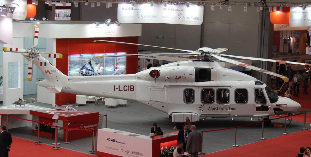 Начало сборки вертолетов AW189 в России откладывается