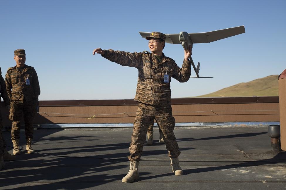 Монголия получает американские беспилотные летательные аппараты RQ-11B Raven