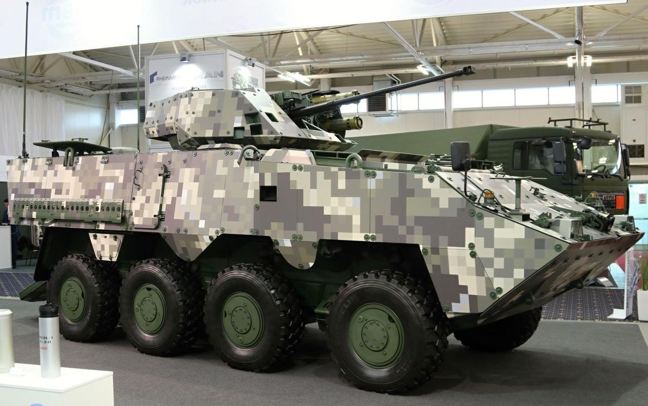 Словацкий бронетранспортер Corsac