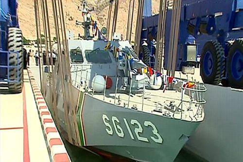 Туркмения получает малые ракетные катера