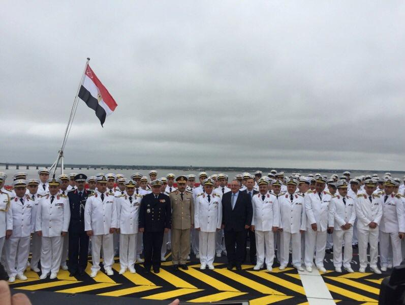 DCNS-delivers-first-Mistral-class-helicopter-carrier-to-Egypt