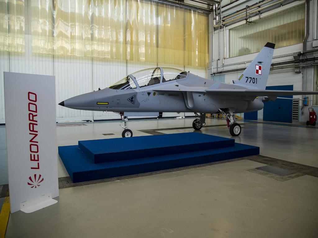 Первый самолет М-346 для Польши