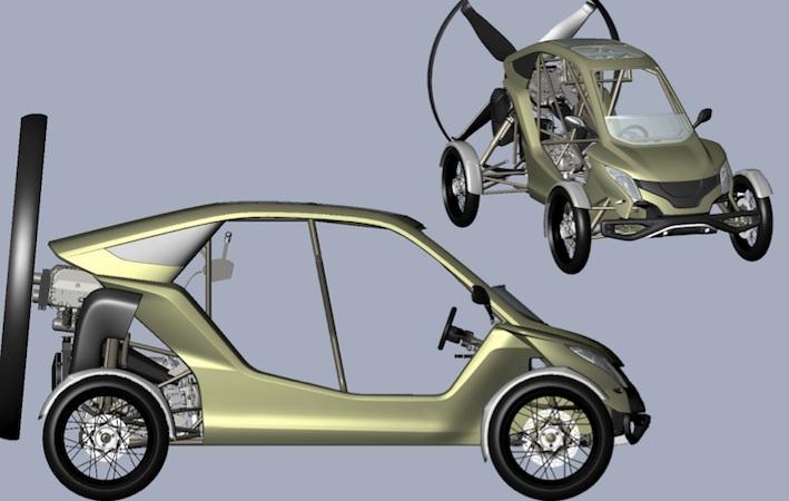Летающий автомобиль стал реальностью - всего-то за 100 тысяч евро