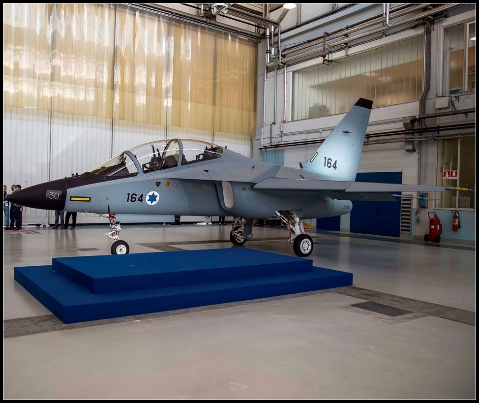 Последний М-346 для ВВС Израиля
